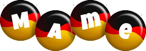 Mame german logo