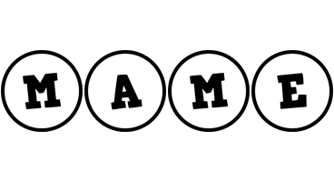 Mame handy logo