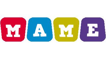 Mame kiddo logo