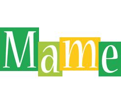 Mame lemonade logo