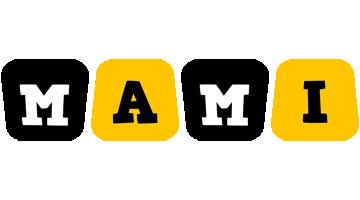 Mami boots logo