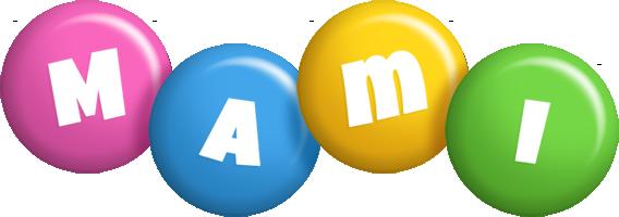 Mami candy logo