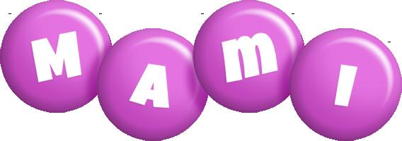 Mami candy-purple logo