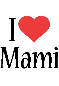Mami i-love logo