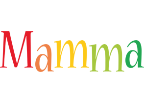Mamma birthday logo