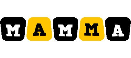 Mamma boots logo