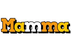 Mamma cartoon logo