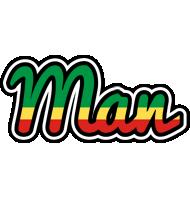 Man african logo