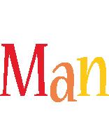 Man birthday logo