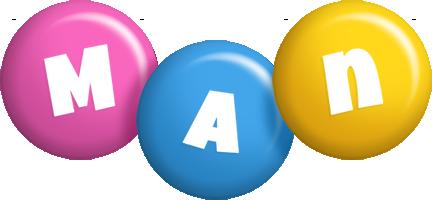Man candy logo