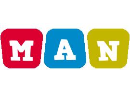 Man daycare logo