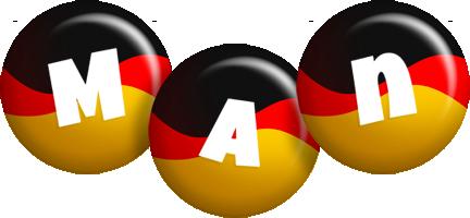Man german logo