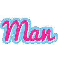 Man popstar logo
