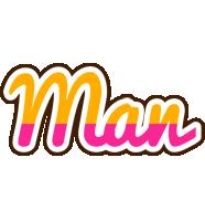 Man smoothie logo