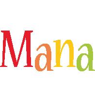 Mana birthday logo