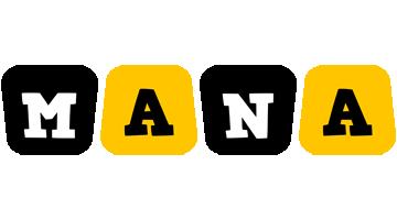 Mana boots logo