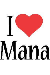 Mana i-love logo