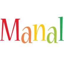 Manal birthday logo