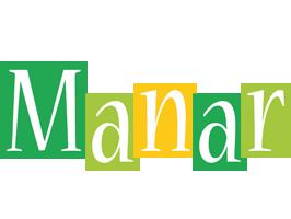 Manar lemonade logo