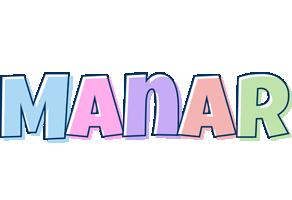 Manar pastel logo