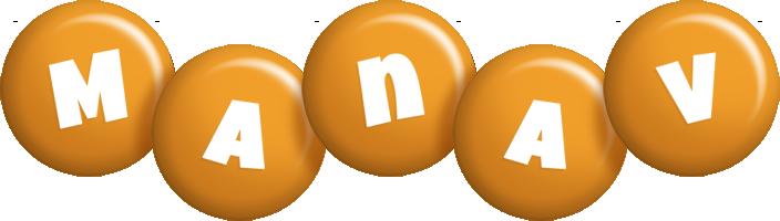 Manav candy-orange logo