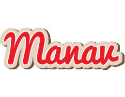 Manav chocolate logo