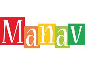 Manav colors logo