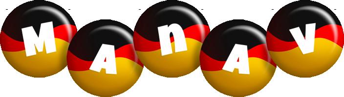 Manav german logo
