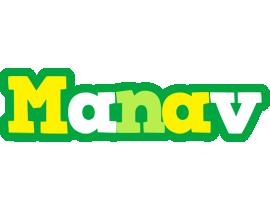 Manav soccer logo