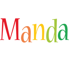 Manda birthday logo