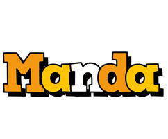 Manda cartoon logo