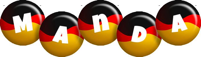 Manda german logo