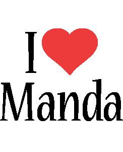 Manda i-love logo