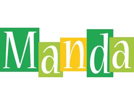 Manda lemonade logo