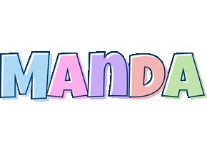 Manda pastel logo