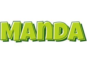 manda logo name logo generator smoothie summer