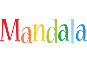 Mandala birthday logo