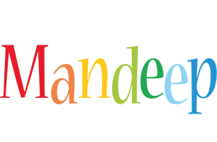 Mandeep birthday logo