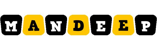 Mandeep boots logo