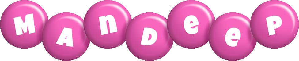 Mandeep candy-pink logo