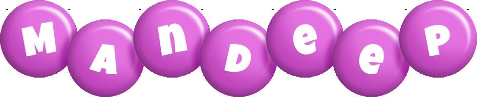 Mandeep candy-purple logo