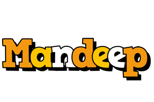 Mandeep cartoon logo
