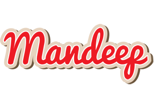 Mandeep chocolate logo