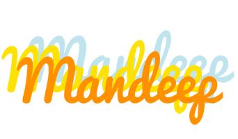 Mandeep energy logo