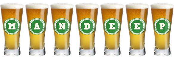 Mandeep lager logo