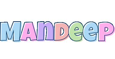 Mandeep pastel logo