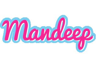 Mandeep popstar logo