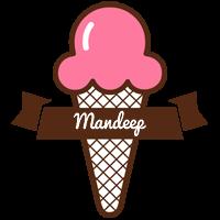 Mandeep premium logo