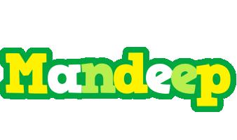 Mandeep soccer logo