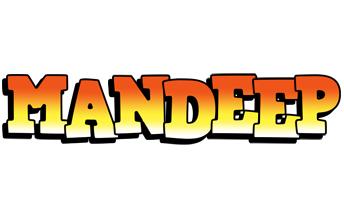 Mandeep sunset logo